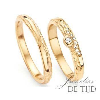 Gouden trouwringen edelsmid