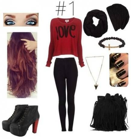 39+ Ideas For Fashion Edgy Grunge Polyvore