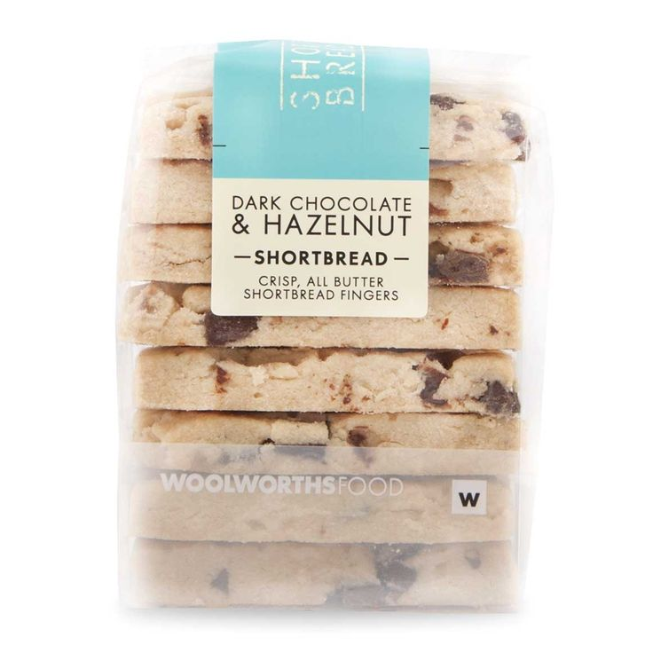 Dark Chocolate & Hazelnuts Shortbread 220g