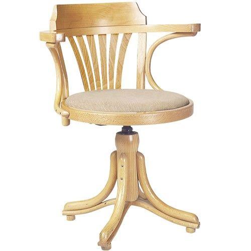 Kontor van #TON is een van de weinige draaistoelen die TON produceert. Het ontwerp is gebaseerd op stoel No. 24 en No. 25, maar de rugleuning kan met of zonder waaier versierd worden. De Kontor is ideaal voor een modieuze werkplek of voor kamers met groeiende kinderen.Bekijk alle stof- en houtmogelijkheden op DEZE WEBSITE, u kunt hier volledig uw eigen stoel samen stellen, elke samenstelling kunt u bij ons bestellen.NEEM CONTACT MET ONS VOOR EEN PRIJSOPGAAFDe prijs hiernaast is vanaf-prijs