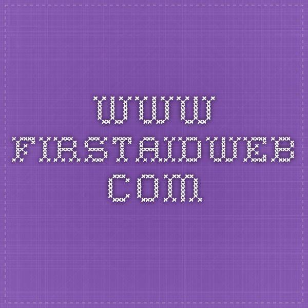 www.firstaidweb.com