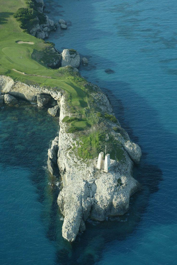 Parcours du Golf Sperone en Corse du Sud #corse #golf