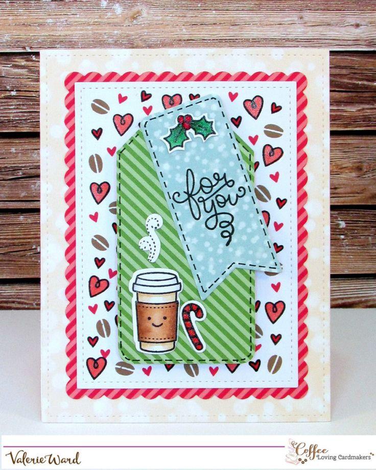 Самодельные открытки с кофе
