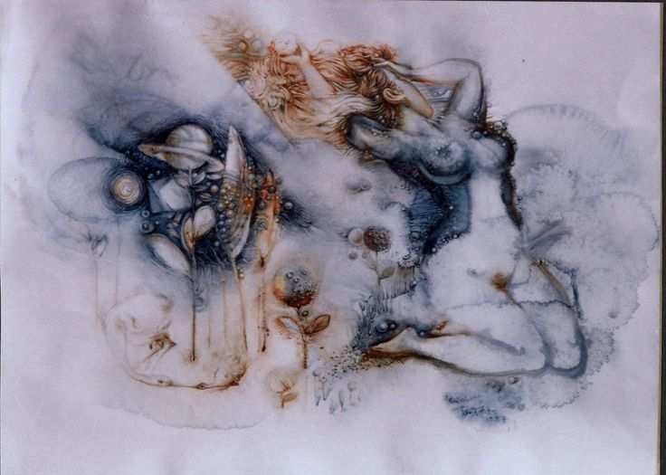 EVERY YEAR COMES THE SPRING – ( aquarelle ) 50Χ70, 1997-2003. – ΚΑΘΕ ΧΡΟΝΟ ΕΡΧΕΤΑΙ Η ΑΝΟΙΞΗ- 50Χ70 (ὑδατογραφία) 1997-2003.Paintings by Aristomenis Tsolakis, Athens.