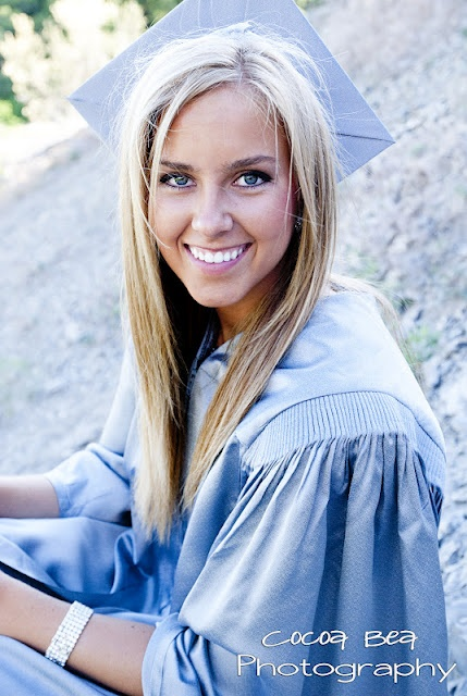 Senior Pictures - Cap and Gown