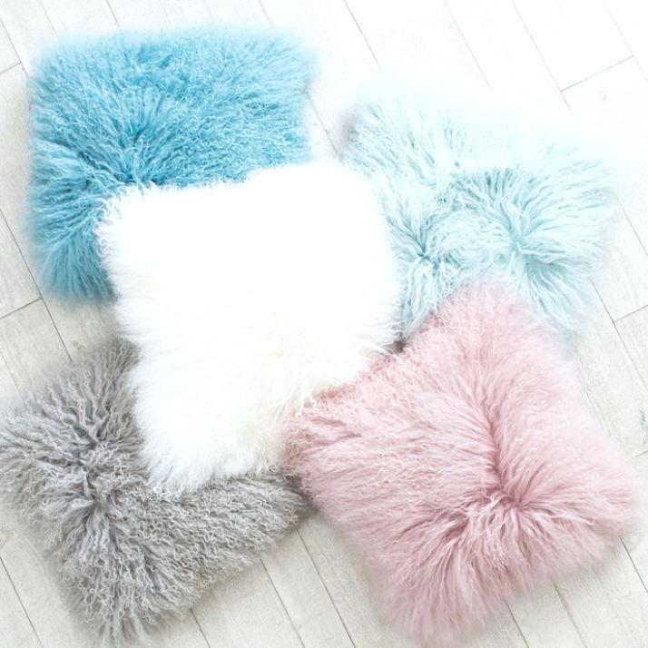 Fluffy Pillows Diy Kids Room Decor Fluffy Pillows Girl Bedroom Decor
