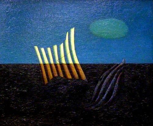 Opengaande Stilte - Piet Ouborg