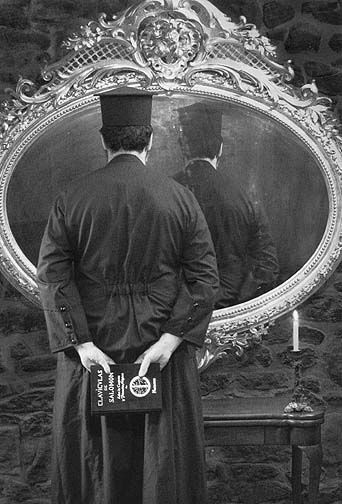 The Miracle of the Mirror (Lewis Carroll) 2002, C-print