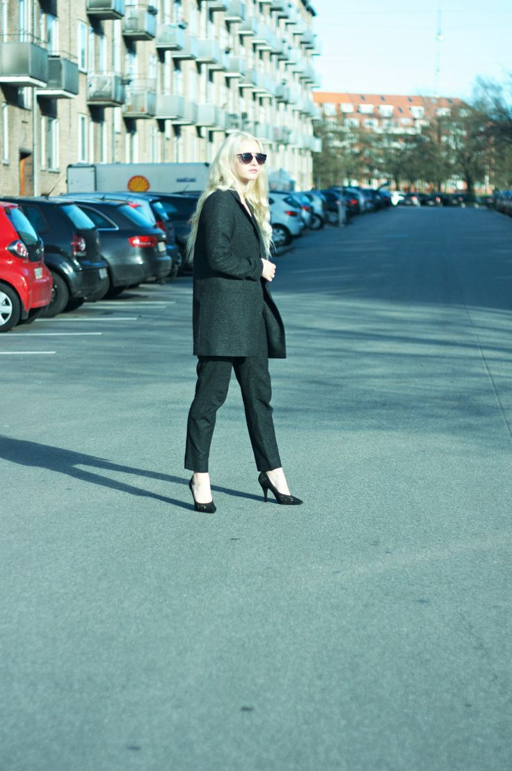 Emily Eileen in Cos suit... #fashionbloggers