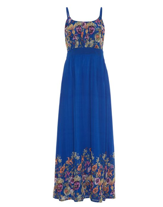 Yumi Pansy Garden Maxi Dress