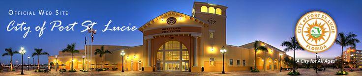 City of Port St. Lucie, Florida Official Web Site #portstlucie #utilities