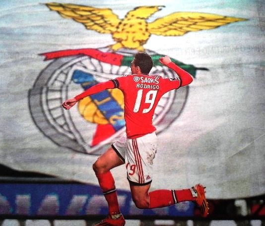 época 2013/2014 - 16ª. jornada - Benfica 2 (Rodrigo 2) Marítimo 0.