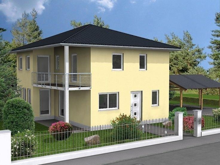 Hausbau modern walmdach  Genf - #Einfamilienhaus von HOGAF Hausbau GmbH | HausXXL ...