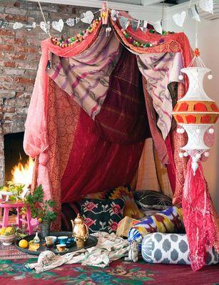 Moroccan reading tent: Ideas, Strong, Dream, Indoor Tent, Space, Bedroom, Kid