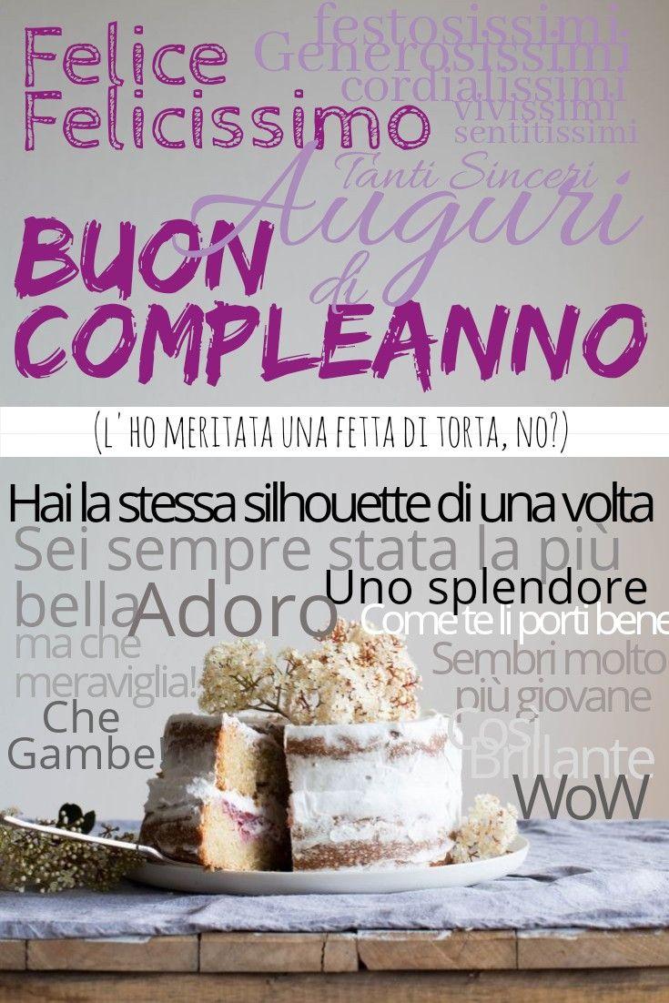 Buon compleanno auguri divertenti amicizia torta party festa dolci