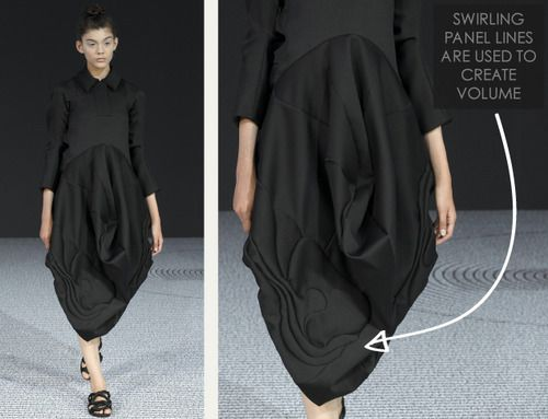 Black Volume at Viktor and Rolf | The Cutting Class