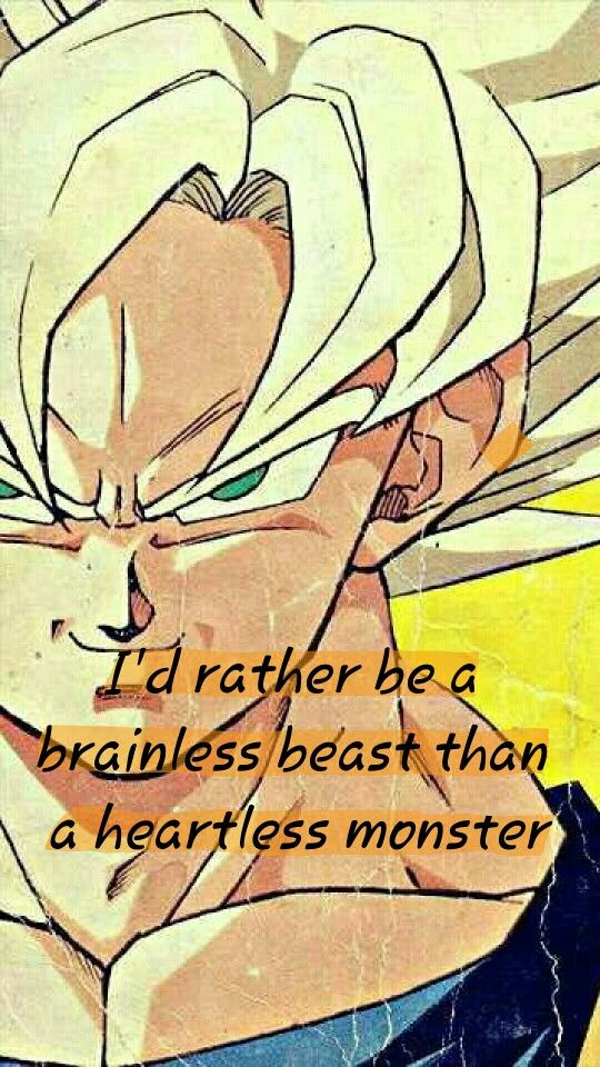 one of my favorite lines by Goku. Described Goku as a character so well. #SonGokuKakarot Pinned from: Wolfthekid