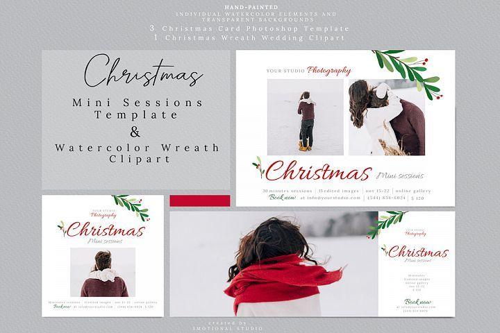 Christmas Mini Sessions Template 380067 Mockups Design Bundles Christmas Mini Sessions Mini Session Template Christmas Minis