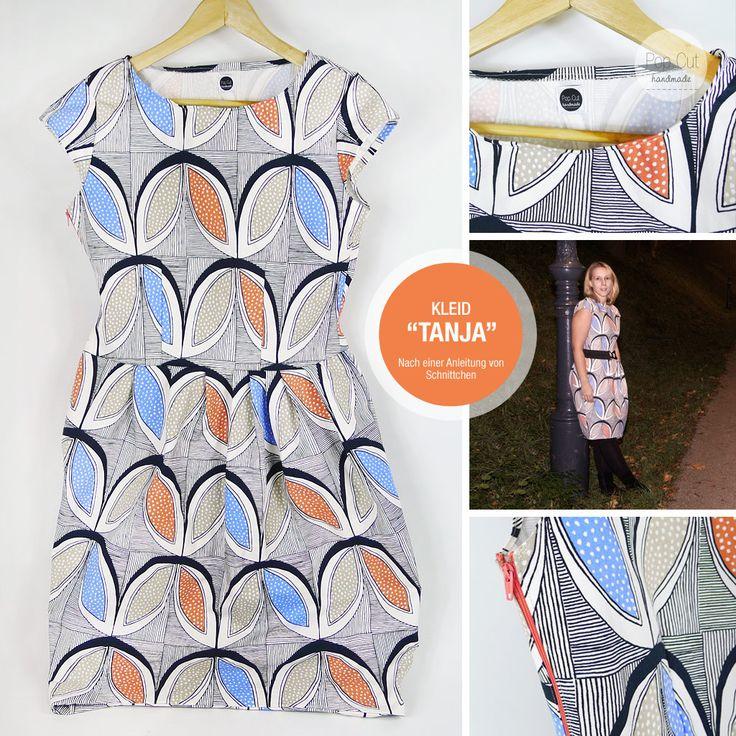 """Mein Kleid """"Tanja""""! Ein wirklich schönes Nähprojekt und tolles Schnittmuster!"""