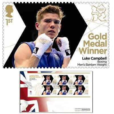 Large image of the Team GB Gold Medal Winner First Day Cover - Luke Campbell
