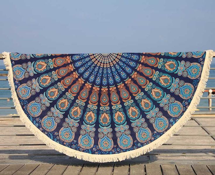 Amazing Boho Roudn beach throws / picnic blanket / wall hanging / mandala tapestery