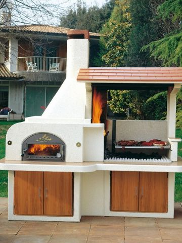 17 best ideas about barbecue en pierre on pinterest for Amenagement cuisine d ete
