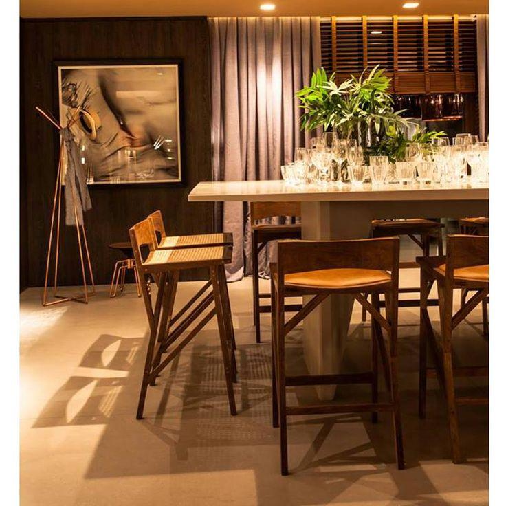 Atibaia stool Banqueta Atibaia Design Paulo Alves & Luís Suzuki
