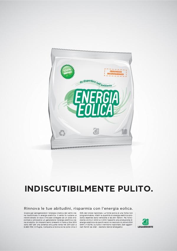 Legambiente Onlus Campaign - Renewable Energies by Eugenio De Riso, via Behance
