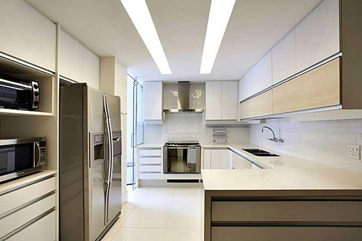 Iluminação da cozinha, como melhorar?   Fórum da Construção