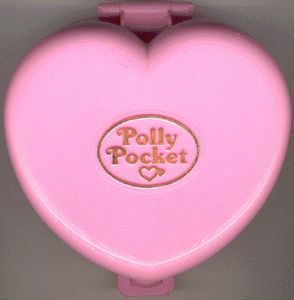 The original Polly Pocket! You could literally fit her world in your pocket. Lived for this. lol