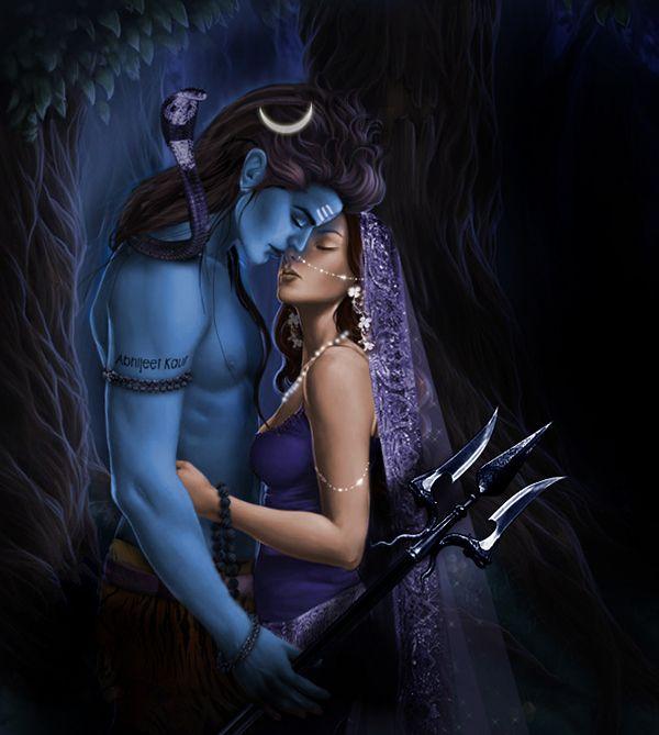 sati and shiva love story - Google Search