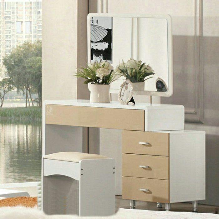 les 25 meilleures id es concernant coiffeuse avec miroir sur pinterest vanities maquillage de. Black Bedroom Furniture Sets. Home Design Ideas