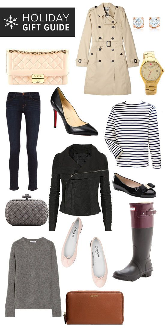 Classic Fashion Gifts For Women -  I'll take one of each :)