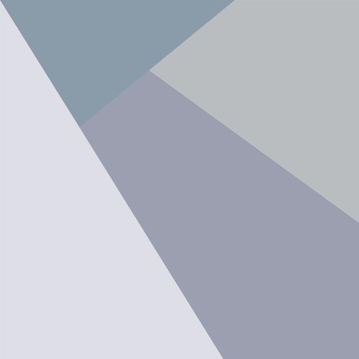 Color block ID Wall Популярный стиль «перекочевал» теперь и на стены. Крупные цветовые блоки визуально расширят пространство, а монохромный дизайн не будет отвлекать внимание от остального интерьера.