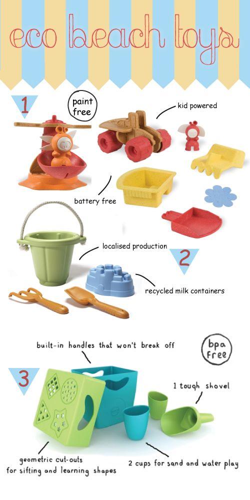 Love sprig & play again toys! Sustainable Eco Beach Toys