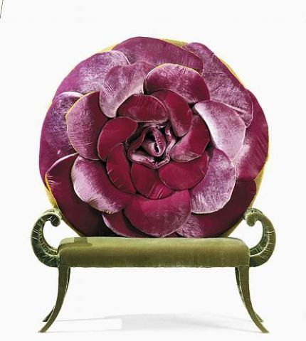 Love the colors of this Carla Tolomeo chair.