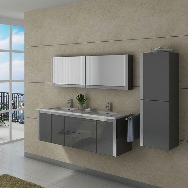 1000 images about meubles de salle de bain on pinterest for Armoire toilette salle de bain
