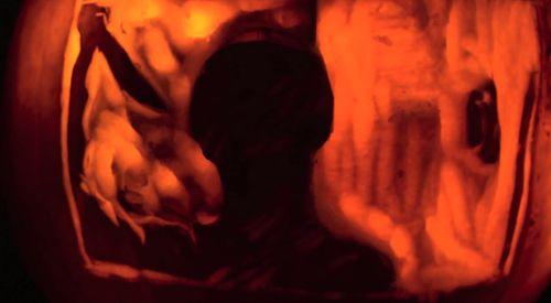 PSYCHO's Shower Scene Recreated in Stop-Motion on Jack-O'-Lanterns