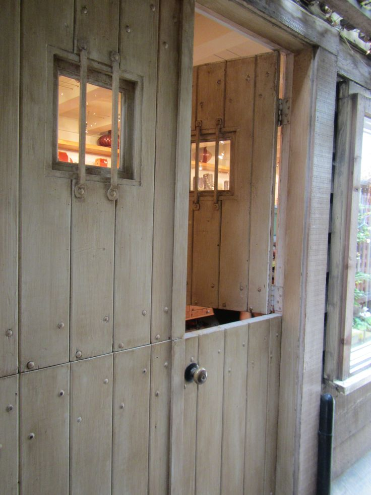 112 best images about shut the front door and gate on for Craftsman dutch door
