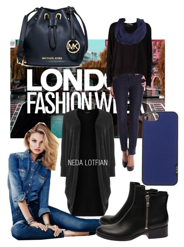 Neda Lotfian by neda-lotfian on Polyvore featuring polyvore, fashion, style, T By Alexander Wang, Warehouse, Diesel, 3.1 Phillip Lim, MICHAEL Michael Kors, Tumi and clothing