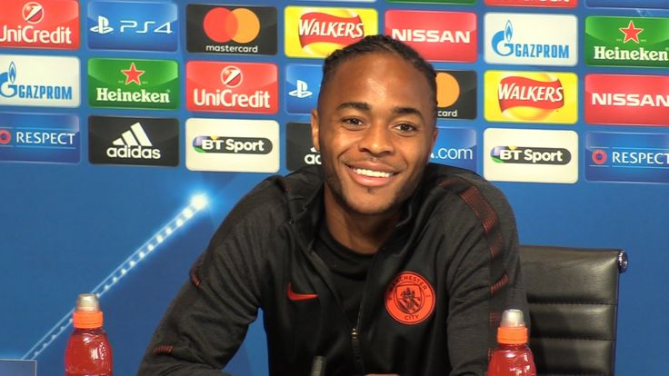 awesome Raheem Sterling Full Pre-Match Press Conference - Manchester City v Borussia Monchengladbach