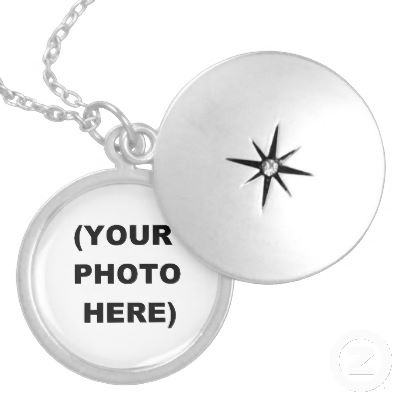 Make Your Own Premium Sterling Silver Locket-Style Necklace!  Just add an image, photo, or even text!  Priced as low as it goes!  $164.95