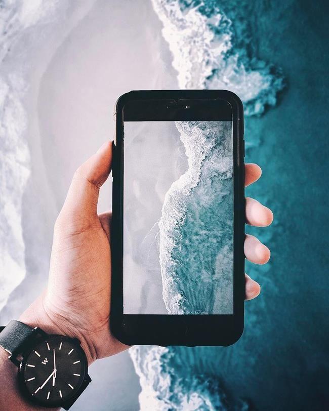 Kuşbakışı Çekilen Fotoğraflar ile Deniz ve Şehrin Güzelliğini Gözler Önüne Seren 20+ Fotoğraf Sanatlı Bi Blog 11