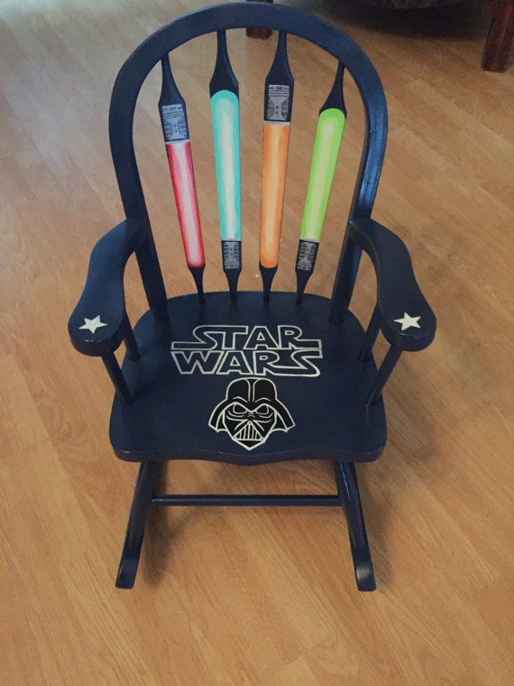 Kids Star Wars Rocking Chair by RandLTDC on Etsy