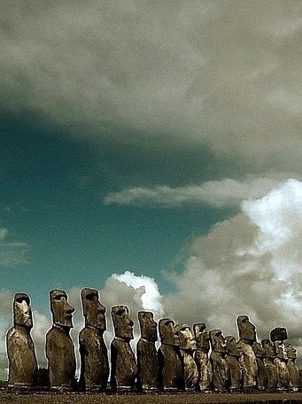 Moai, República de Chile
