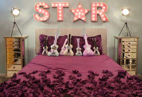 Спальня для будущей рок-звезды