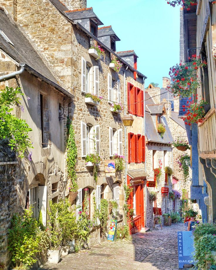 postcards from dinan