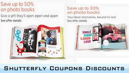 use Shutterfly Coupons Discounts when you make your shopping and you'll be able to get your own customized cards at a discounted price.