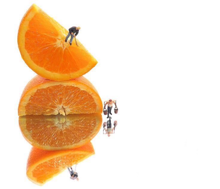 Orange Juice Harvesting