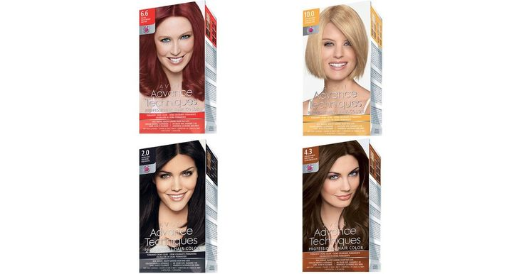 Avon Advanced Techniques Professional Hair Color Brand Ambassador ...